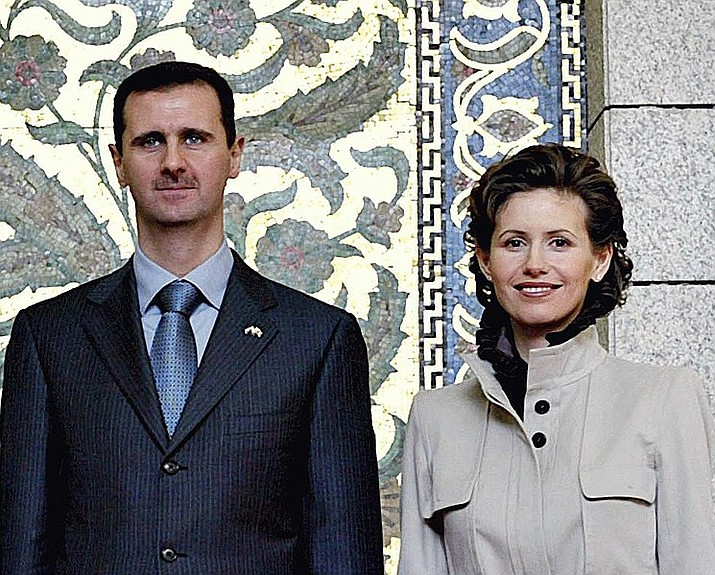 Bashar and Asma al-Assad, President and first-wife of Syria. (Ricardo Stuckert/ABr)