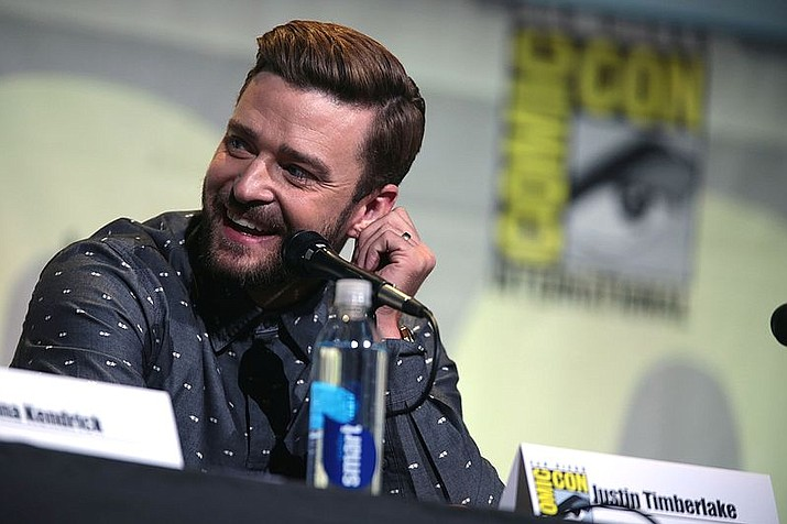 Justin Timberlake speaking at the 2016 San Diego Comic Con. (Gage Skidmore)
