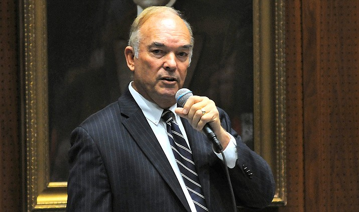 The House voted to expel Yuma Republican Don Shooter on Thursday. (Howard Fischer/Capitol Media Services)