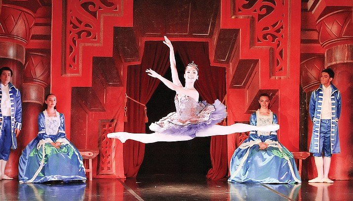 "The Atlantic City Ballet brings its interpretation of ""Sleeping Beauty"" to the Yavapai College Performing Arts Center stage. (Craig Billow/Courtesy)"