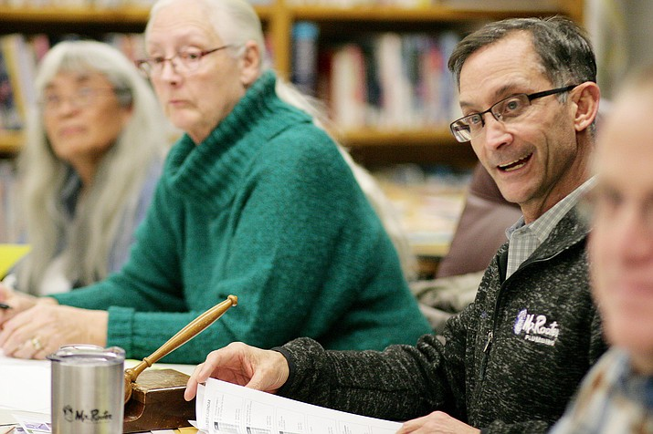 Monday, the Camp Verde Unified School District's governing board will hold a special work session at 4 p.m. to set governing board goals post board self-evaluation. (Photo by Bill Helm)