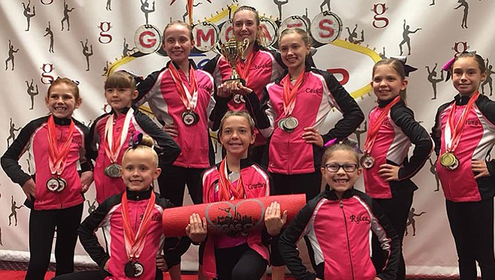 The All Starz Silver Team recently placed third at the Vegas Cup.