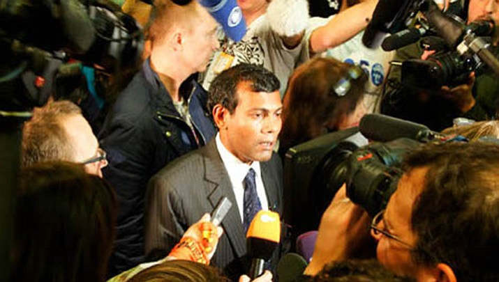 Mohamed Nasheed, President of the Maldives. (Courtesy photo)