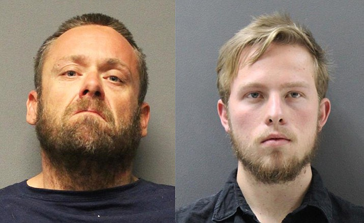 Christopher Toney and Buchanan Bleeker were arrested in a law enforcement operation combating human tracking and prostitution in Yavapai County.