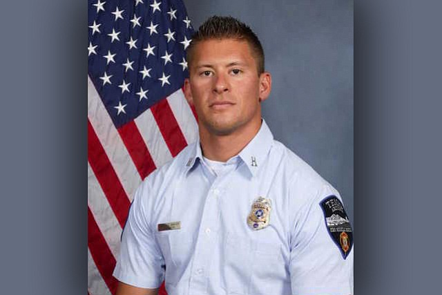 Authorities say off-duty Tempe Fire Department Captain Kyle Brayer, 34, was shot in the head following an altercation n Scottsdale early Sunday. (Tempe Fire Department)