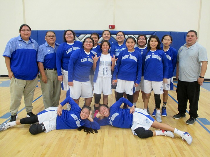 Hopi High girls defeated Tuba City, 52-49.