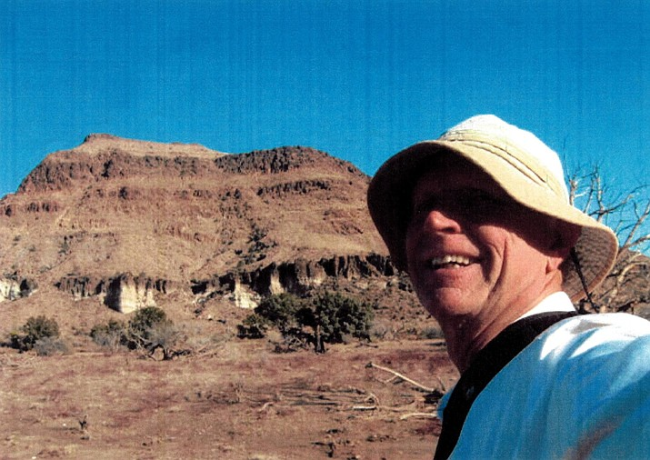 Ted Johnson enjoys hiking in the desert as much as he does more 'scenic' locations.