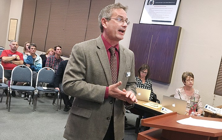 Cottonwood-Oak Creek School District Superintendent Steve King. VVN/Bill Helm