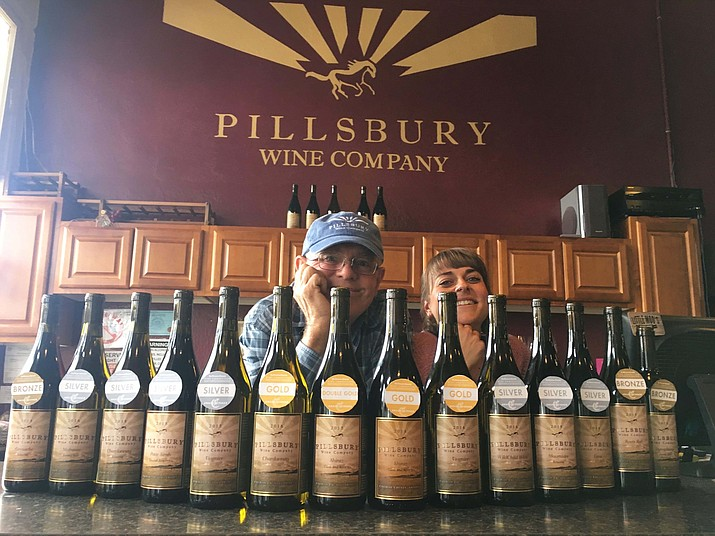 Pillsbury Wine won 14 awards at the San Francisco Chronicle Wine Competition.
