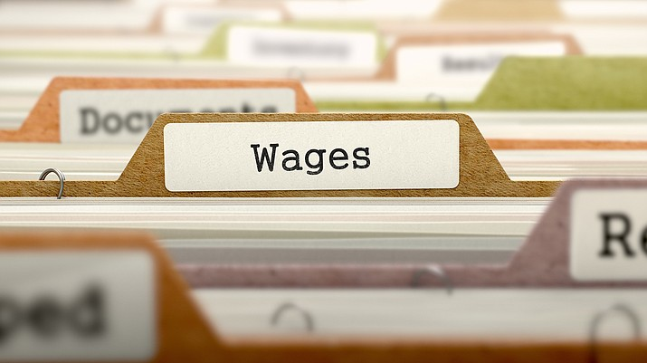 Wages in Arizona rose 2.5 percent over last year, but that number is below the national average, which is 3.2 percent. The average wage in Yavapai County is $732 per week, with ranks 12th of 15 counties. (Adobe Stock)