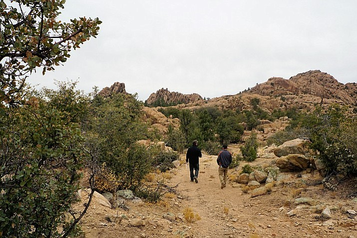 What role can local residents play in ensuring protection of the ecological, hydrological, archaeological, historical, recreational, and aesthetic values of the unique 1.4 billion-year-old Granite Dells? (Courier file photo/Cindy Barks)