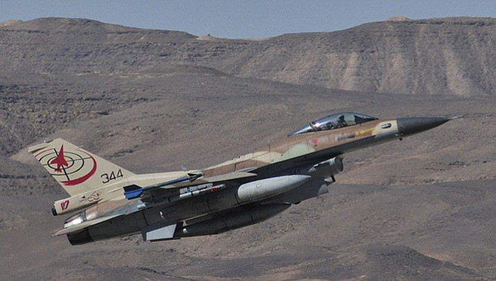 An Israeli Air Force General Dynamics F-16C Barak. (U.S. Air Force photo by Master Sgt. Lee Osberry)