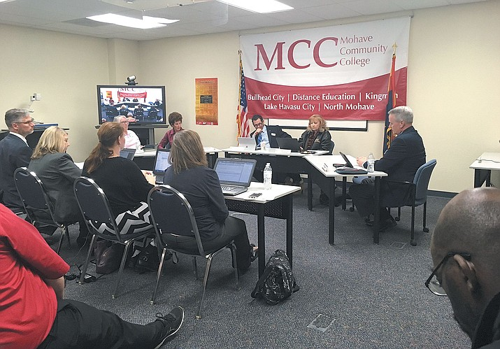 The Mohave Community College Board of Governors unanimously agreed not to raise MCC tuition.