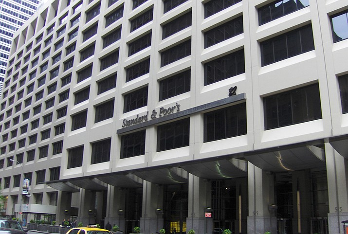 The swiftness of the market's slide into a correction, or a drop of at least 10 percent from a recent peak, was unparalleled. The Standard & Poor's 500 index, the benchmark for many index funds, took only nine days to fall 10 percent from its all-time high on Jan. 26. (Photo of Standard & Poor's Headquarters in Lower Manhattan by B64 CC 3.0 https://goo.gl/AjzFwG )