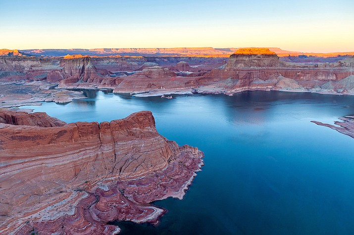 Lake Powell, which straddles Utah and Arizona, is expected to get 47 percent of its average inflow because of scant snow in the mountains that feed the Colorado River.