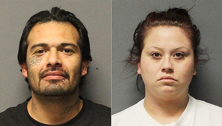 Juan Requejo, 29, from New Mexico, and Brittnee Sorenson, 27, from California, were arrested Tuesday, Feb. 6, on various charges.