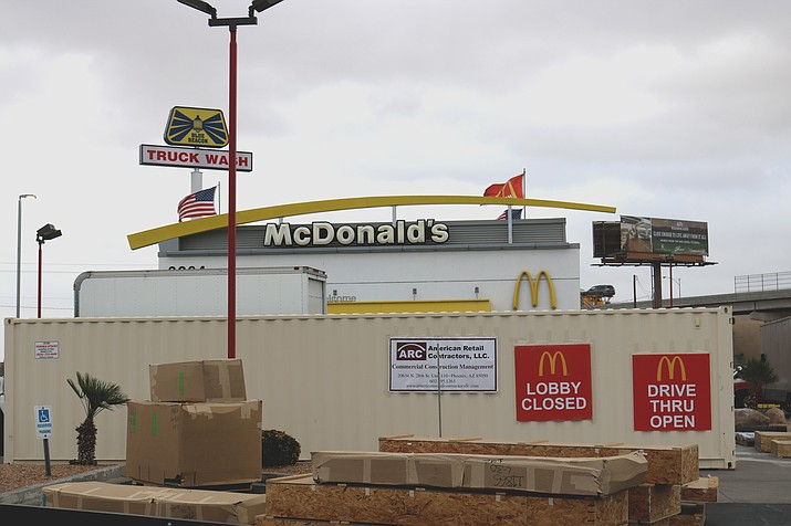 McDonald's at 3264 Andy Devine, Ave., will host a grand reopening March 24.