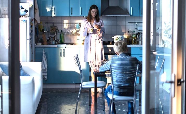 Maryana Spivak, Aleksey Rozin and Matvey Novikov star in 'Loveless.' Sony Pictures Classics
