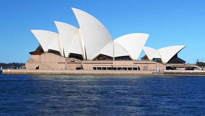 Sydney Opera House in Sydney Austrailia. (Courtesy photo)