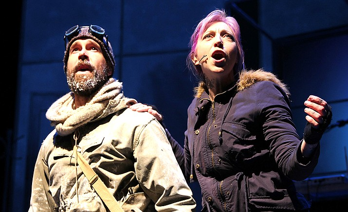 """Ernest Shackleton Loves Me"" is a wildly inventive musical adventure that tells the story of a sleep-deprived single mom who struggles to balance her family and career as a video game music composer."