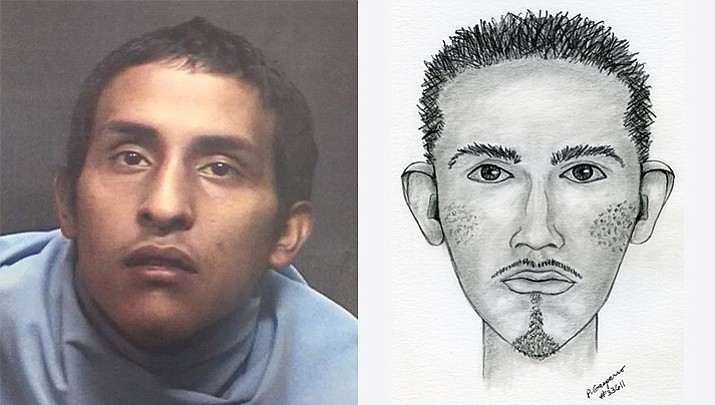 Abraham Antonio Garcia has been sentenced to 59 years in prison for kidnapping and raping a south Tucson woman at gunpoint. After the March 2016 sexual assent police released this sketch of the suspect. (Tucson Police Department)