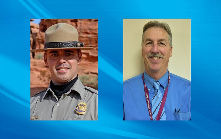 Chad Corey will remain Grand Canyon-Parashant's superintendent following his temporary appointment last year. Michael Herder will return to the Arizona Strip, where he worked for 20 years before taking a position in Nevada. (Bureau of Land Management)
