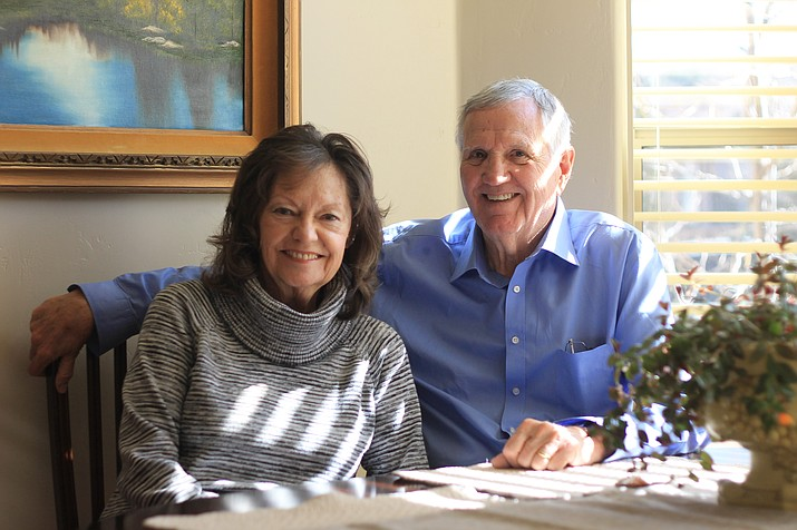 Rich and Helen Gorney met in Chicago in 1957 and have lived in Williams for 41 years. (Wendy Howell/WGCN)