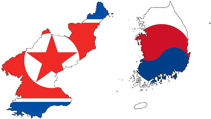 North Korea and South Korea. (Courtesy photo)
