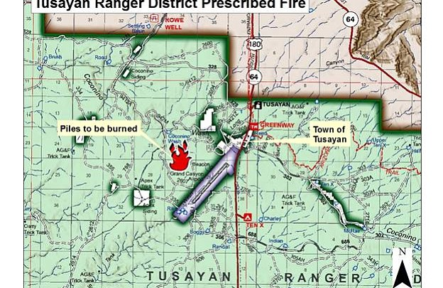 Fuels Reduction Efforts Continue on Tusayan Ranger District