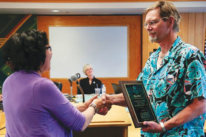 Retired CCC Science Instructor Bryan Bates receives emeritus status after serving CCC and students more than two decades. (Submited photo)