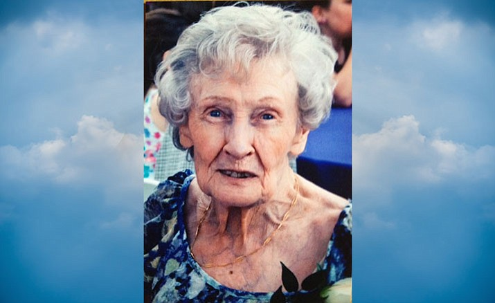 Mary Katherine Pribbeno, of Scottsdale, passed away Sunday, Jan. 7, at the age of 90.