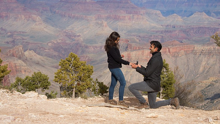 The Art of the Proposal: Grand Canyon photographer Terri Attridge captures couples' intimate moments