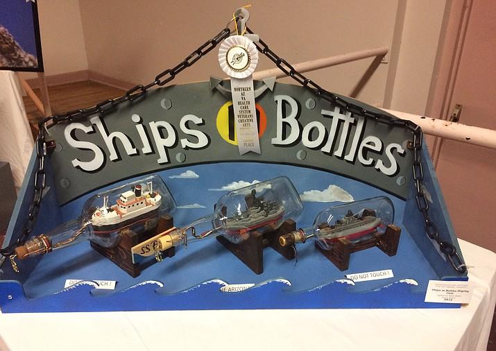 Ships in Bottles (Nanci Hutson/Courier)