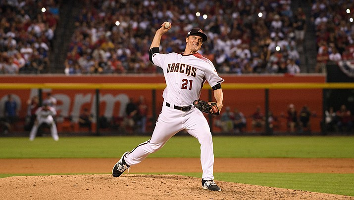 Greinke will get help from humidor in third year with Arizona