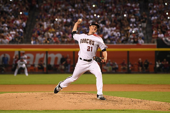 Zack Greinke, entering his 15th major league season, was 13-1 at home last season with a 2.87 ERA. Greinke will throw home games this year with baseballs that have been stored in a humidor.