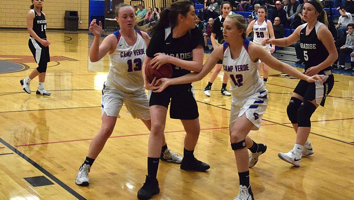 Camp Verde girls basketball opens state tournament at Bradshaw
