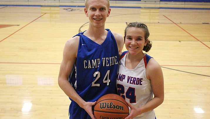 Double Team: Siblings share number and success on the hardwood for Camp Verde