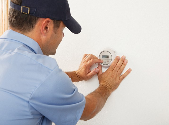 Spring is an ideal time to have HVAC systems inspected and repaired, if necessary. (Courtesy)