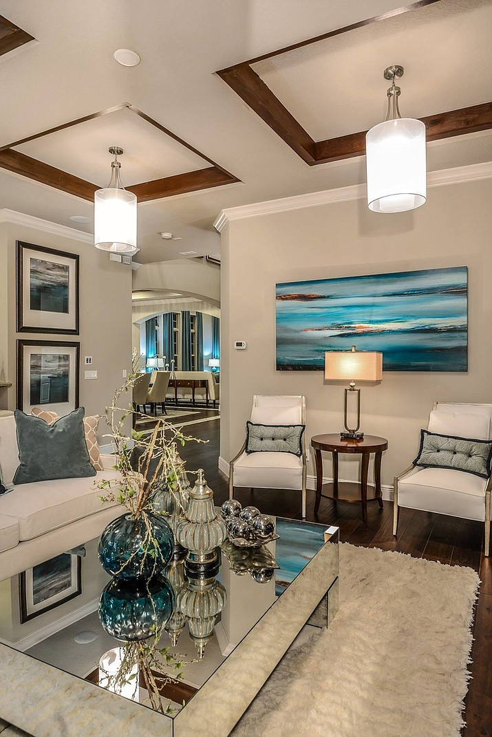 A Taylor Morrison Model Home In The Steeple Chase Community In Lake Mary,  Florida.