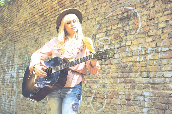 Swedish musician Sofia Talvik will be performing 6:30 p.m. Thursday at Diana's Cellar Door Wine Bar.