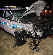 Impaired driver collides with DPS trooper on 69; highway closed 5 hours photo