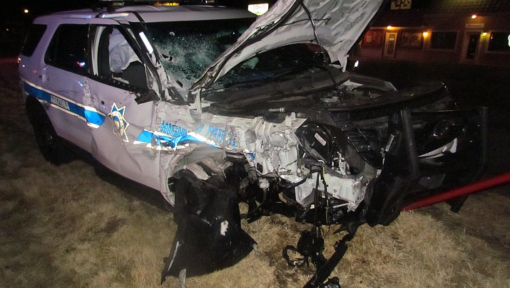 Impaired driver collides with DPS trooper on 69; highway closed 5 hours