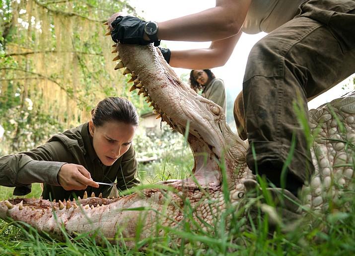 Jennifer Jason Leigh and Natalie Portman star in 'Annihilation.' Paramount Pictures