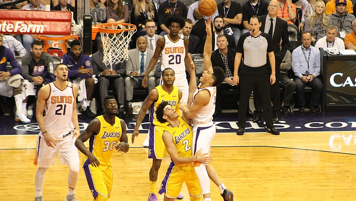 3-point champion Booker stays upbeat as Suns losses mount