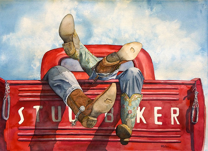 """Texas Two Step"" by Julie Ronning Talbot"