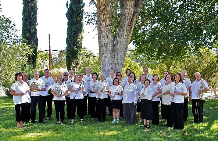 The Kingman Concert Band, with conductor Julie Gragg, far left, will be playing a free concert March 4 at Journey Church. (Daily Miner File Photo)