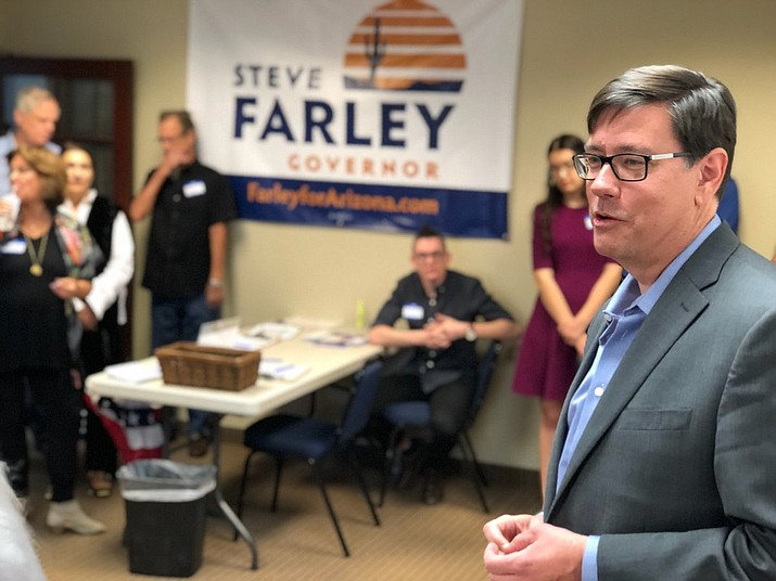 State Sen. Steve Farley (D–Tucson) hopes to focus on public education and health care during his gubernatorial campaign. (Courtesy Photo)
