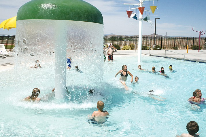 Chino Valley Aquatic Center is asking to raise prices because of recent minimum wages rates going up. (Review file photo)