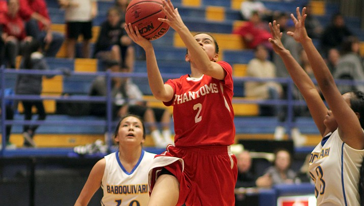 Lady Phantoms bow out of state tournament after loss to Baboquivari