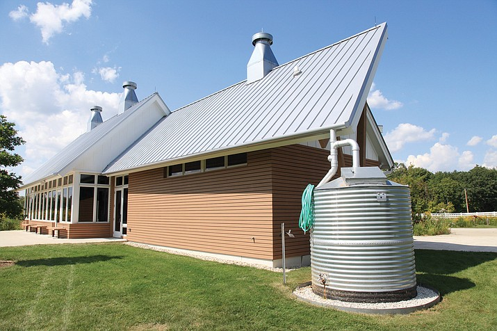 Charming Storage Prescott Valley Az #19 - A Rain Water Collection System And Storage For Above Ground. (Stock Image)